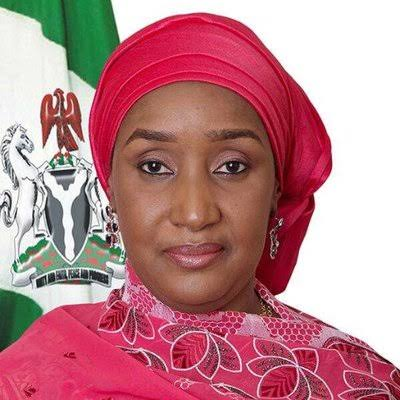 A file photo of the Minister of Humanitarian Affairs, Disaster Management and Social Development, Sadiya Farouq.