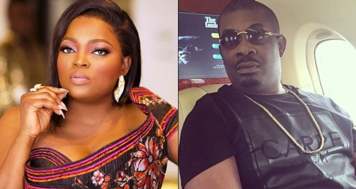 So painful You Have Paid The Price For Your Mistake, Don Jazzy Crushes On Funke Akindele