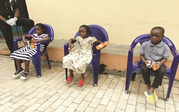 Police in search of families of children rescued from child trafficking syndicates (photo)