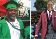 "58-year-old Kanayo O. Kanayo aces law school exams, becomes a barrister - Congratulations are in order for actor Kanayo O. Kanayo who has just become a full-fledged barrister - The veteran actor shared the news that he passed his law school examinations on his IG page - Fans and colleagues have showered an out-pour of congratulatory messages on the movie star At age 58, veteran Nigerian actor Kanayo O. Kanayo has proven to his fans that everything is achievable once a person is filled with dedication and a burning passion to achieve his/her desires. The celebrated movie veteran has just become the latest full-fledged barrister that will be joining the justice system just after passing his law school examinations. Kanayo recently took to his official page on photo-sharing app to partially give those following him a hint into his latest achievement. The movie star simply shared a screenshot of a report noting that he has passed his law school exams. 58-year-old actor Kanayo O. Kanayo becomes a barrister after passing law school exams 58-year-old actor Kanayo O. Kanayo. Photo: Instagram/@kanayo.o.kanayo Source: Instagram In the caption, he said: ""Thank you for your prayers and support. Congratulating me without knowing what and why. It's called FRIENDSHIP. It's called TRUST. It's called CONFIDENCE. We keep it low and conservative till after the call."" See his post below: Giving fans a better grasp of Kanayo's latest achievement, a friend of the actor on Facebook identified as Chris Kehinde Nwandu said: ""Join me in congratulating my brother and bosom friend, veteran actor KOK who just passed his Law School exams to qualify as a full-fledged Barrister at Law."" See his post below: Since the news broke fans have started congratulating the actor. Read what some of them had to say below: prettywinnie22: ""Big congratulations sir you deserve it."" veronicaobum: ""Congratulations."" kleitoschichet: ""Congratulations Sir! God's grace."" wytengodson: ""Congratulations once more senior brother."" isaacbobangel: ""Congrats sir more to come."" mirembezainab4: ""Congratulations legend."" Recall that in 2019, Legit.ng reported that the actor shared photos of himself as he bagged a degree in law from University of Abuja. Kanayo also congratulated his coursemate, Elizabeth Ayua, who graduated with a First Class from the same degree as him. The actor while announcing his feat on social media, shared a clip of himself and some of his coursemates at their convocation ceremony. As a lawyer, I will deliberately lose a case if my client is bad - Success Adegor