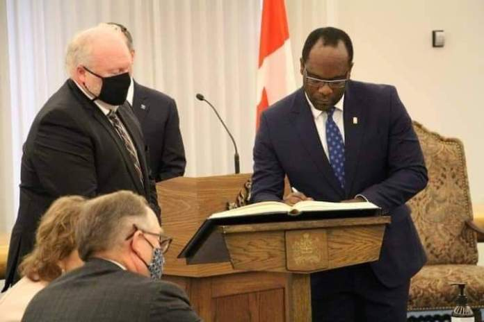 Igbo Man Appointed Justice Minister In Canada (Photos)