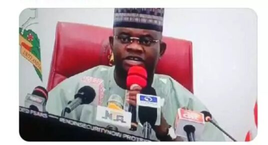 Amazing As Governor Yahaya Bello volunteers to be the leader of the #EndSARS protest