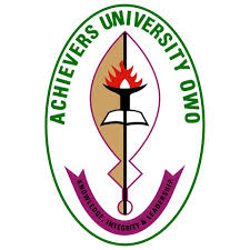 2020 Massive Recruitment for Academic Staff at Achievers University [ Hot Jobs in Nigeria ]