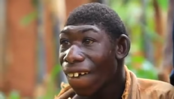 Video of 21-year-old Boy Who Feeds On Grass and Stays In The Forest
