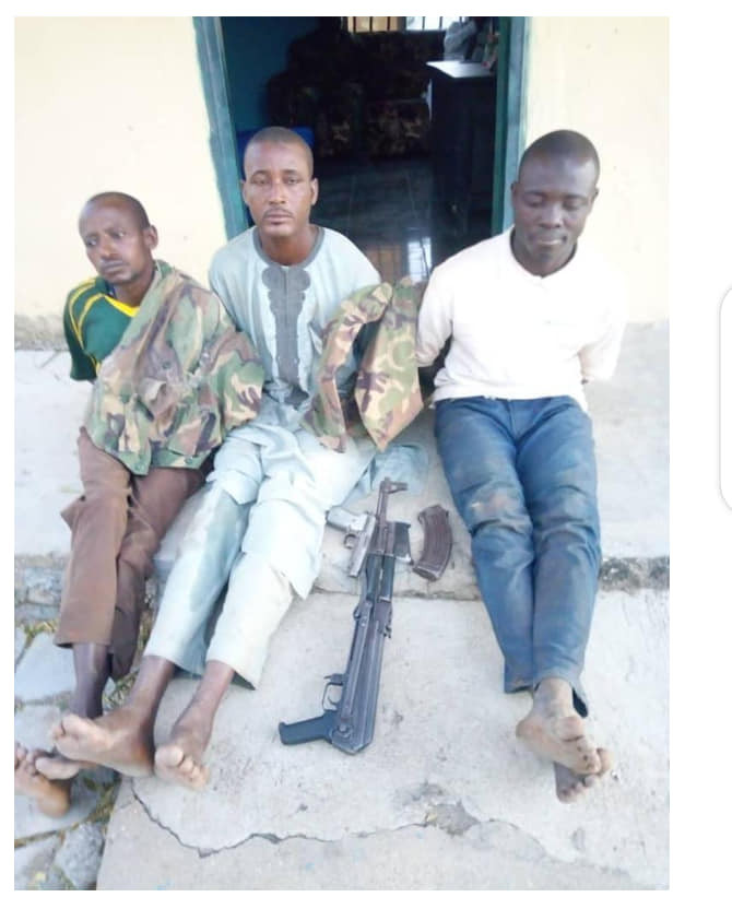 Joint police, military, DSS team arrest suspected kidnappers with military uniforms in Plateau state