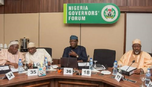 Full Details Of Nigerian Governors Emergency Meeting Emerge