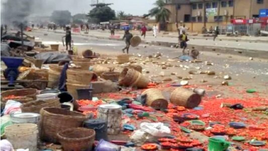 Heartbreaking : How Pregnant Woman, 3 Others Died, Properties Destroyed At Shasha Market