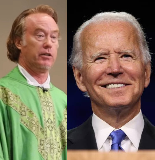 Catholic Priest Says He'll Never Give US President, Joe Biden, Holy Communion Unless He Do This... (video)