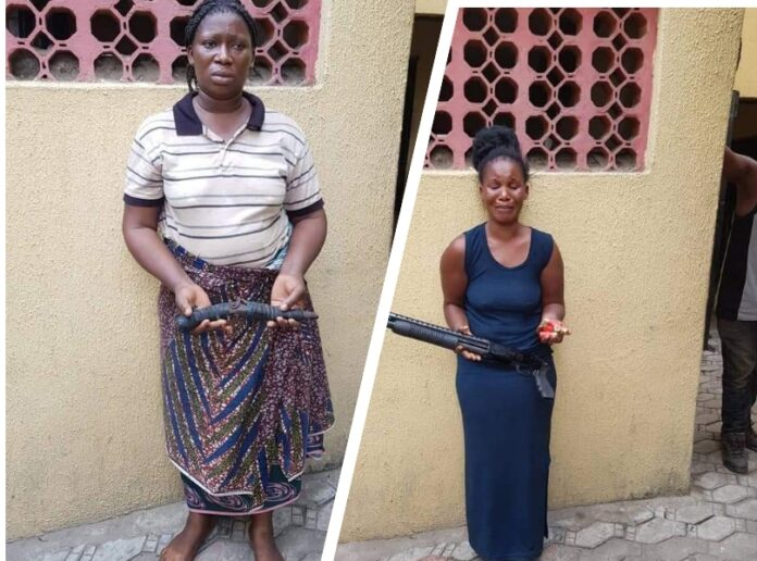 Twelve Women Arrested Among 50 Suspected Robbers, Cultists in Lagos