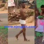 Yahoo Boy Run Mad After Bathing With Spiritual Soap , See What He Did Before Taking Off His Clothes