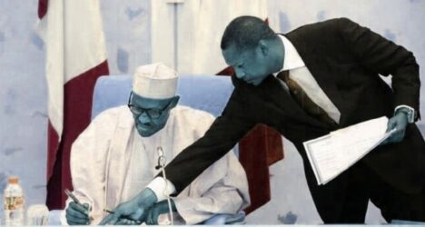 BREAKING: AGF Malami Asks Buhari To Suspend Nigerian Constitution, Declare State Of Emergency