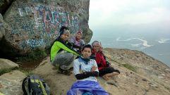 Rizal, Wiwit dan Alief. (doc Alief Ridwan)