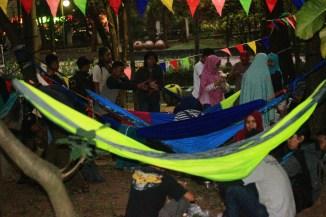 Acara malam yang santai sambil berbuka puasa. Doc by @anggitinsave