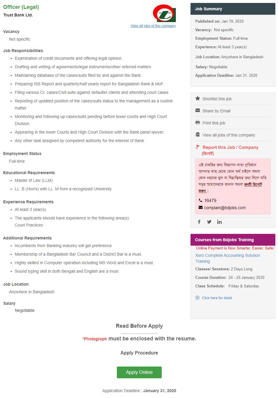 FireShot Capture 001 - Officer (Legal) _ Trust Bank Ltd. -- Bdjobs.com - jobs.bdjobs.com
