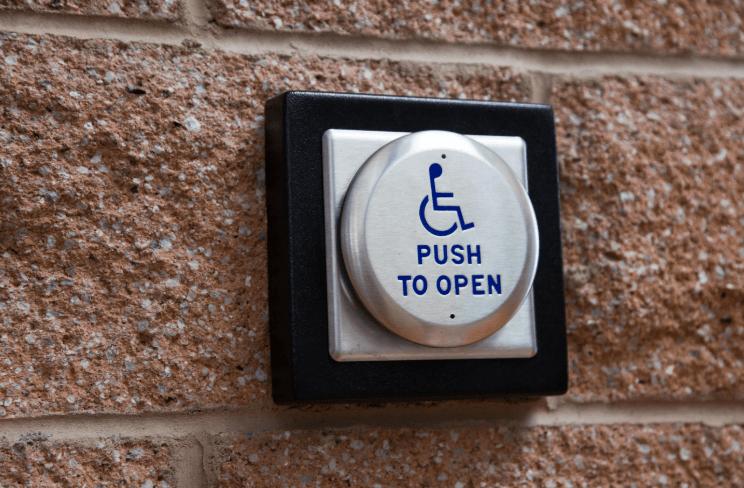 automatic open door