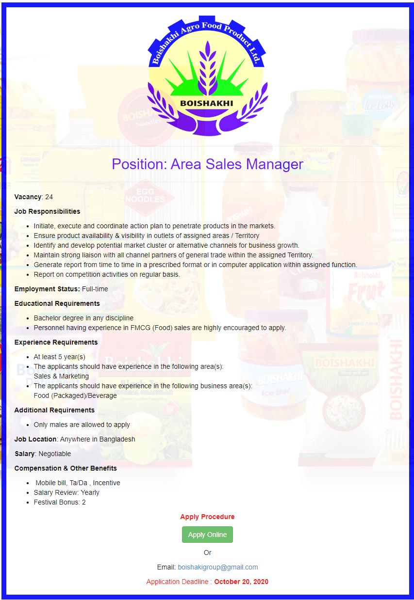 Boishakhi Agro Food Products Ltd