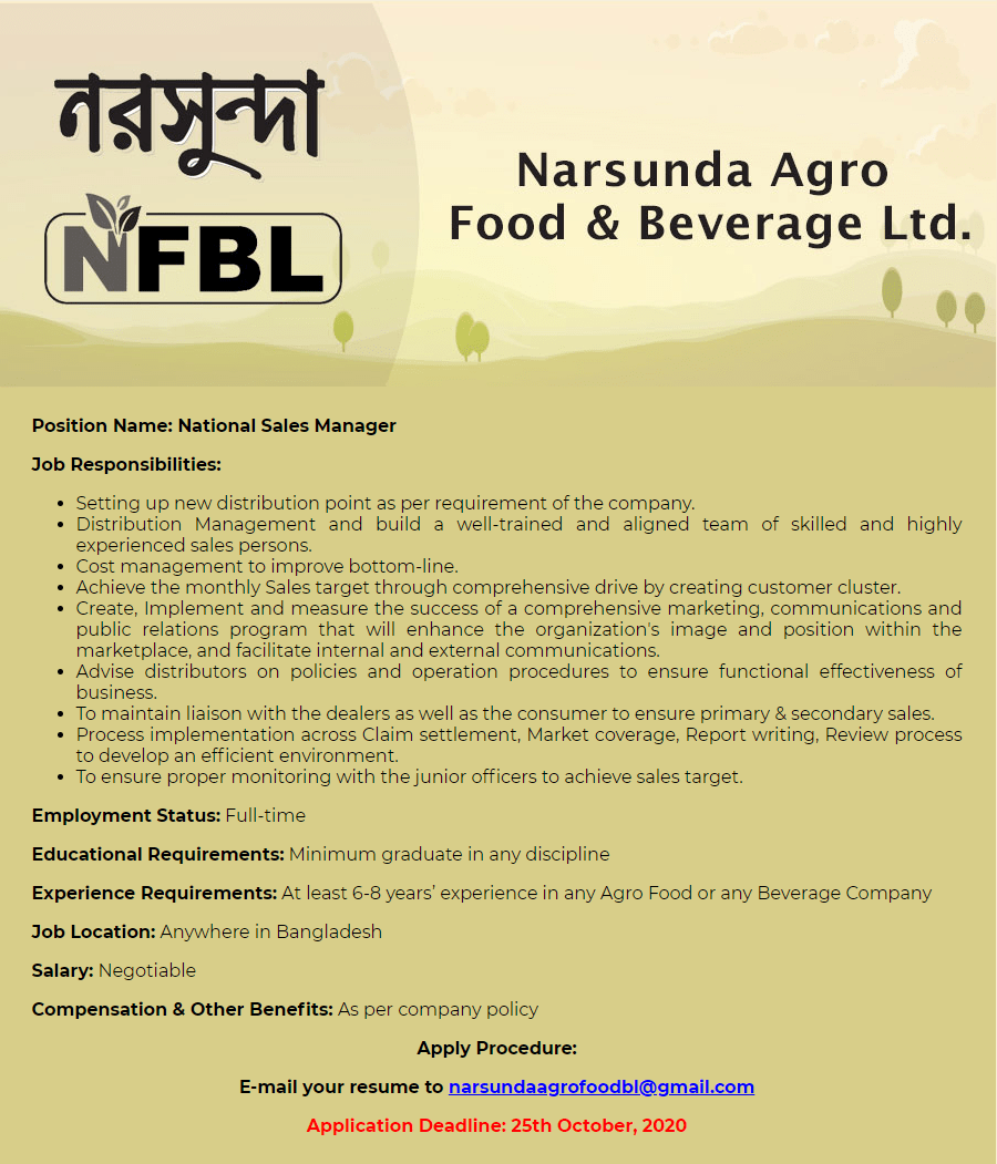 Narsunda Agro Food & Beverage