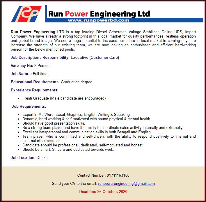 Run Power Engineering Ltd.