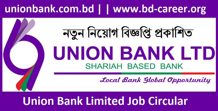 union bank job banner