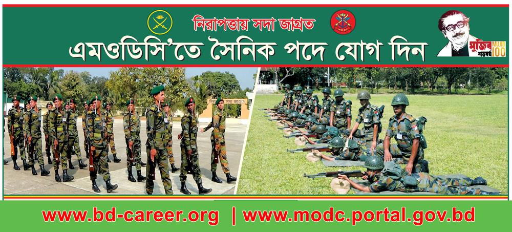 MODC Job Circular Banner 2021