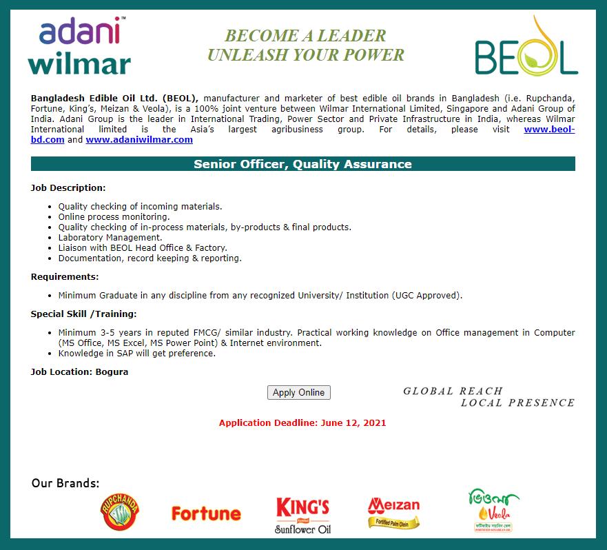 Bangladesh Edible Oil Limited