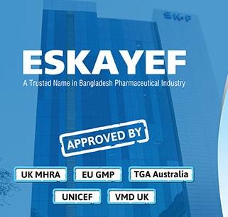 Eskayef Pharmaceuticals ltd Job Circular 2021