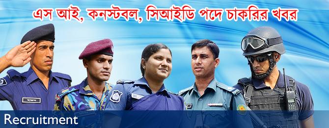 Bangladesh Police Job Circular 2021 www police gov bd