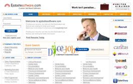 Free Job Board PSD Templates