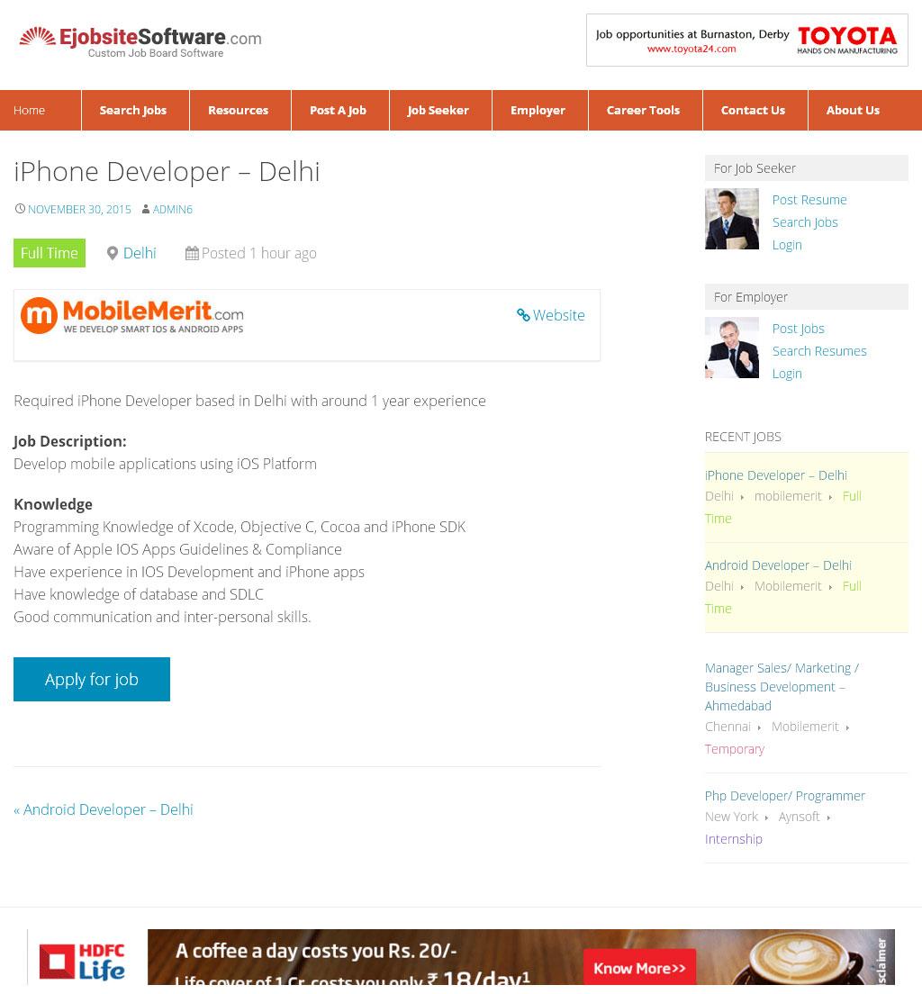 job board wordpress theme job board software mobile plugin