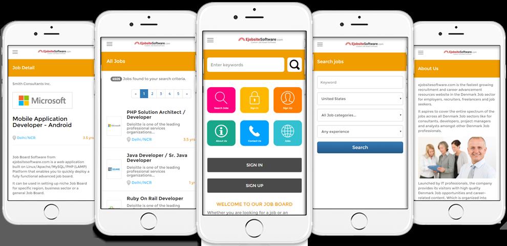 Job Board Software iPhone App