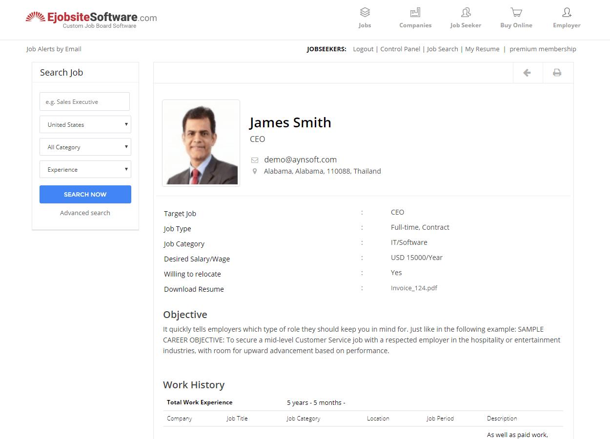 add resume