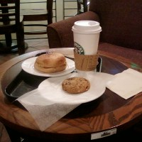 At 4AM: Starbucks Breakfast