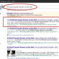 Top Women On The World Wide Web...Lolz