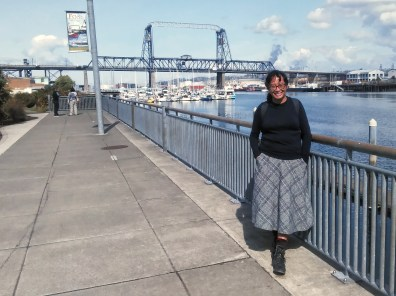 Emee at Thea Foss Waterway, Tacoma. Photo: Shawn Granton