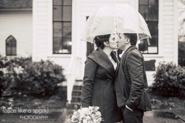 rainy day wedding inspiration