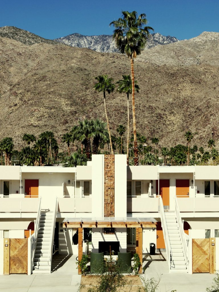 Aerial view of Ace Hotel Resort Palm Springs - Group Travel