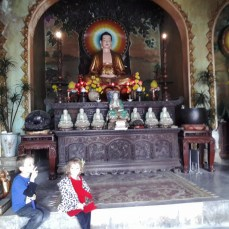 Hangin' with buddha
