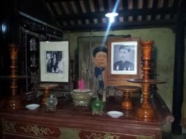 Altar for ancestor worship