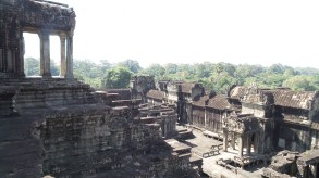 View from the top of Angkor Wat