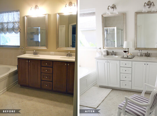 Bathroom Remodel Before After