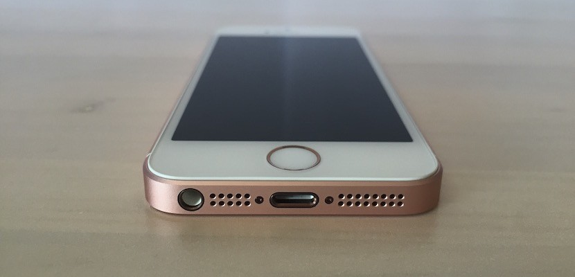 Conexión del iPhone SE