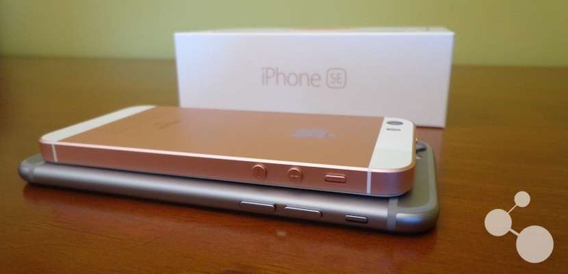 Comparativa iPhone SE y iPhone 6s