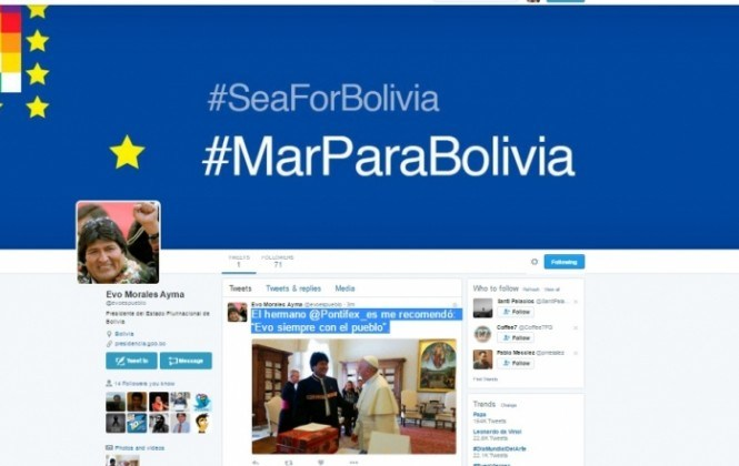 Conoce el primer tuit de la cuenta oficial del Presidente Evo Morales