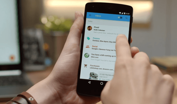 google inbox gmail