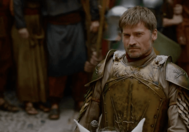 Jaime en Kingslanding.