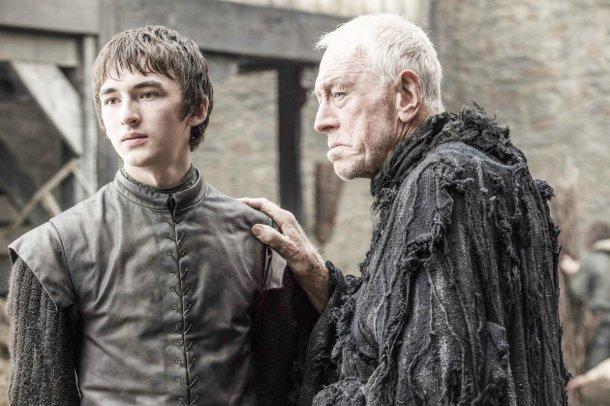 Bran y Bloodraven, en una de las visiones.