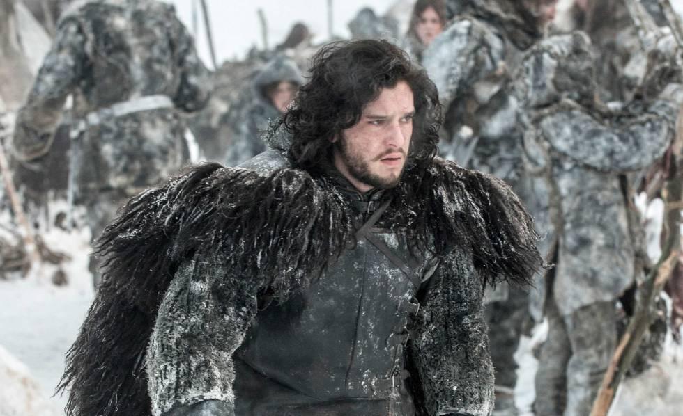 Jon Snow en la quinta temporada de 'Juego de tronos'.