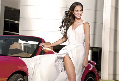 Fátima Jordán será la única modelo de Pablo Manzoni. Se ubicará en el stand de Coboce