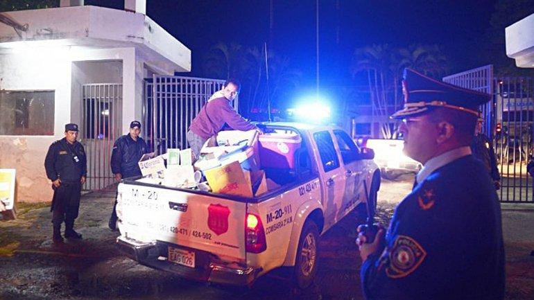 Los hinchas de Boca Juniors están detenidos en la sede de la Fuerza de Operaciones Especiales (FOPE)