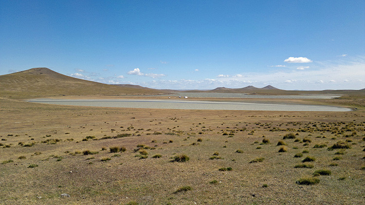 Imagen ilustrativa. Paisaje del noreste de Tierra del Fuego, en una región próxima a la ciudad de Río Grande.